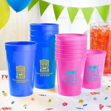 Personalized Summer Cups
