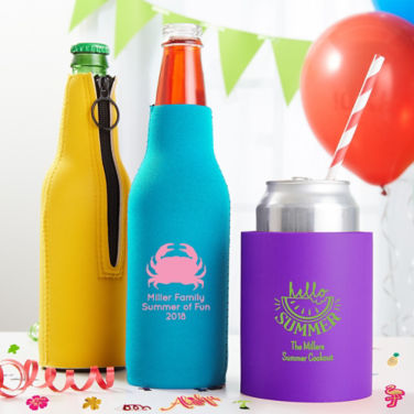 Personalized Summer Coozies
