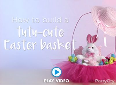 Tutu-Cute Easter Basket How To