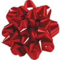 Ribbons bows party city red gift bow negle Image collections