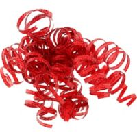 Ribbons bows party city glitter red curled gift ribbons negle Image collections
