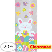 Clearance easter supplies party city easter treat bags 9 12in 20ct negle Image collections