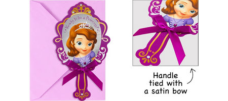 Sofia The First Party Supplies Sofia The First Birthday Ideas - Sofia the first party invitation template