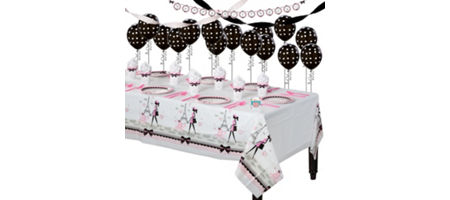 Silver And Pink Party Decoration Ideas