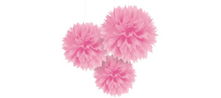 Pink fluffy decorations 3ct party city pink fluffy decorations 3ct mightylinksfo Gallery