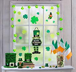 St Patrick S Day Super Window Decorating Kit