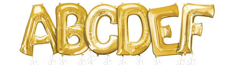party city letter balloons letter balloons balloons city 23904 | F686225 full