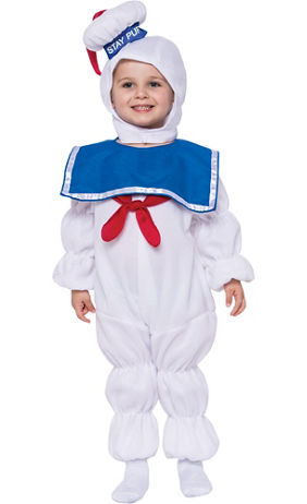 toddler boys stay puft marshmallow man costume ghostbusters
