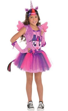 Girls Rainbow Unicorn Costume | Party City Canada