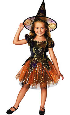 Witch Costumes for Girls - Kids Witch Costumes   Party City