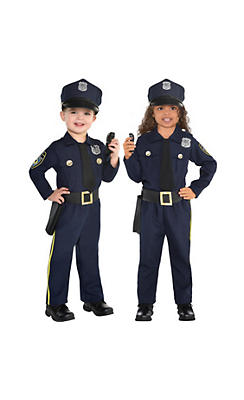 Police costumes sexy cop costumes for women party city toddler boys classic police officer costume solutioingenieria Images