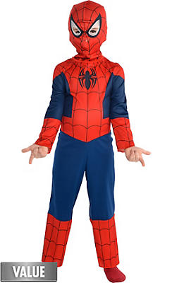 Spiderman Costumes for Kids & Adults - Spiderman Halloween ...