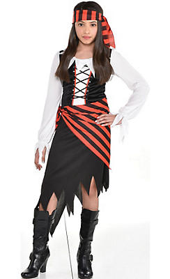 Girls Pirate Costumes - Kids Halloween Pirate Costumes | Party City