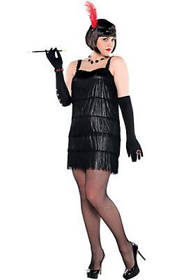 Flapper Costumes for Kids & Adults - Flapper Dresses & Accessories ...