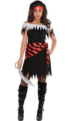 Pirate costumes for women sexy pirate costume ideas party city adult ahoy katie pirate costume solutioingenieria Image collections