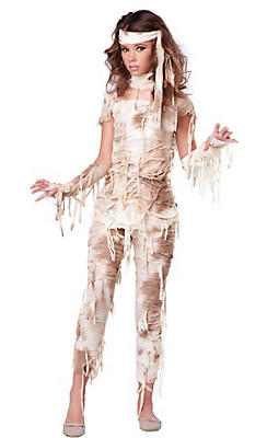 Egyptian roman greek costume accessories party city teen girls mystical mummy costume solutioingenieria Gallery