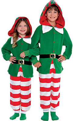 Christmas elf costumes for kids adults elf outfits accessories child elf one piece costume solutioingenieria Images