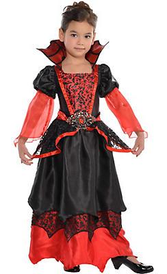 Vampire costumes for kids adults vampire costume ideas party city toddler girls vampire queen costume solutioingenieria Images