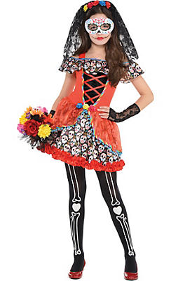 Day of the Dead Costumes - Day of the Dead Halloween Costumes ...