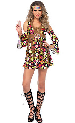 60s costumes for women hippie costumes costume ideas party city adult starflower hippie costume solutioingenieria Images