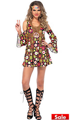 60s costumes for women hippie costumes costume ideas party city adult starflower hippie costume solutioingenieria Choice Image