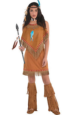 Western Costumes for Women - Cowgirl & Native American Princess ...