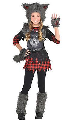 Werewolf costumes for kids adults werewolf halloween costumes girls she wolf costume solutioingenieria Choice Image