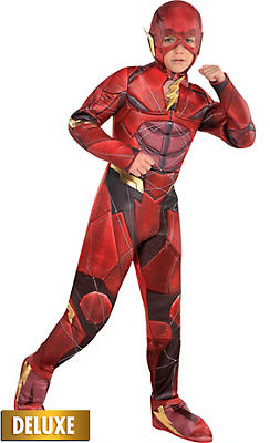 DC Comics The Flash Costumes for Kids & Adults | Party City