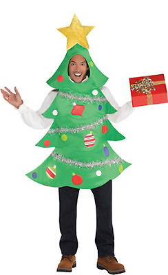 Christmas costumes outfits snowman reindeer costumes party city adult christmas tree costume solutioingenieria Image collections