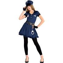 Girls Cop Costume