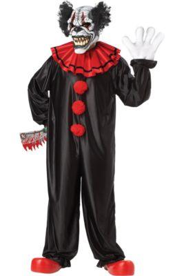 adult last laugh evil clown costume