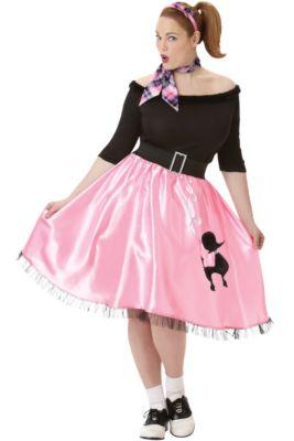 989c214b1958a 50s Costumes - Sock Hop Costumes, Poodle Skirts & Car Hop Costumes ...