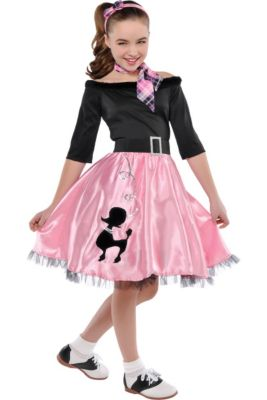 1d1efb8a7523 50s Costumes - Sock Hop Costumes, Poodle Skirts & Car Hop Costumes ...