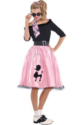 b0954eb9e978e 50s Costumes for Women - 50s Clothing | Party City