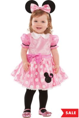0f3b15cbc7a1 Baby Pink Minnie Mouse Costume