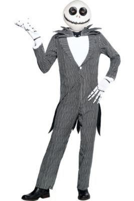adult pinstripe jack skellington costume the nightmare before christmas