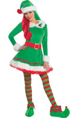 1a767fc5f9810 Christmas Elf Costumes for Kids & Adults - Elf Outfits & Accessories ...