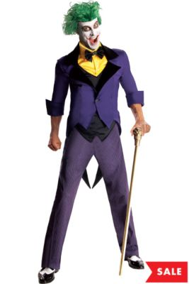 adult joker costume batman