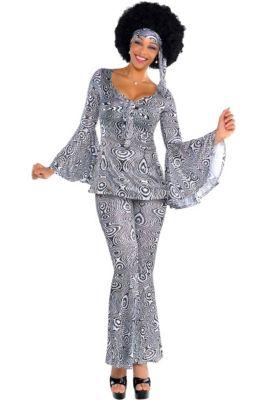 e2166915fd8 Adult Dancing Queen Disco Costume