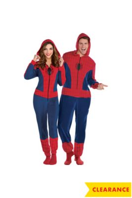 zipster spider girl one piece costume