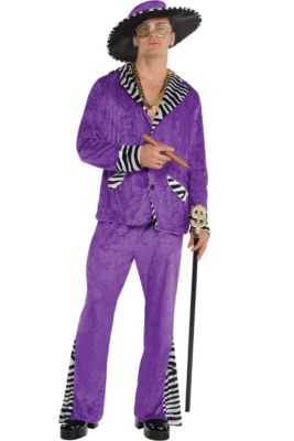 c663e269e7e6 Adult Sugar Daddy Pimp Costume