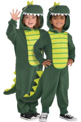 7648d64944 Toddler Zipster Dinosaur One Piece Costume