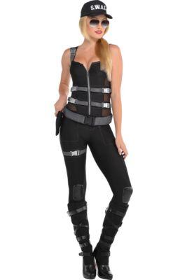 a53b579c24a3 Adult Armed   Dangerous SWAT Costume
