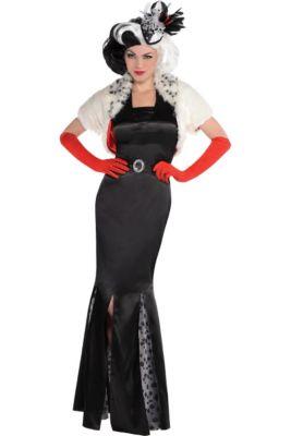 adult cruella de vil costume 101 dalmatians