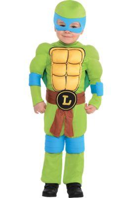 29a02e5085b Toddler Boys Leonardo Muscle Costume - Teenage Mutant Ninja Turtles
