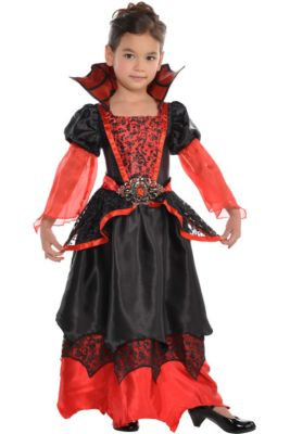 Vampire costumes for kids adults vampire costume ideas party city toddler girls vampire queen costume solutioingenieria Image collections