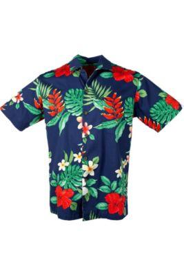 Blue Hibiscus Hawaiian Shirt