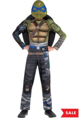 boys leonardo muscle costume teenage mutant ninja turtles 2