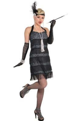 Flapper Costumes - 1920s Flapper Dresses for Women | Party City