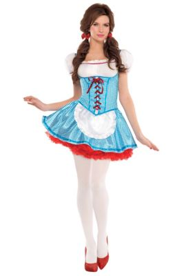 454c6313aae02 Officially Licensed Dorothy Costumes - Wizard of Oz   Party City